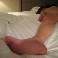 Sexy Foot - Black Hair, Brunette Hair, Spread Legs, Naked Girl, Nude Amateur , Twat Shot, Legs Spread Wide Apart, Satisfied On The Bed, Ong Leg, Foot Picture, Fully Nude
