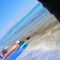 Beach Girls In Grecce , Take This Pic. In A Beach In Greece Last Summer, Some With Good Quality Some With Bad.
