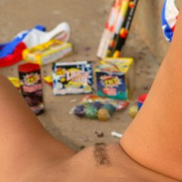 Pubic Hair Landing Strip - Dark Hair, Landing Strip, Pubic Hair, Spread Legs, Trimmed Pussy , Outdoor Pussy Shot, Spread Legs, Fireworks Near Landing Strip, 4th Fireworks, My Girlfriends Pussy