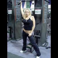 Nicki Hunter Strips At The Gym