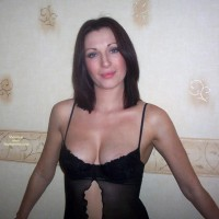 Smirk On Face - Sexy Lingerie , Smirk On Face, Black Lingerie, Nipple Slip, Looking At Camera