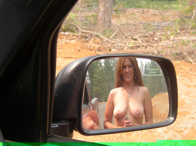 Boobs In Rear Mirror - Naked Girl, Nude Amateur , Nude In Mirror