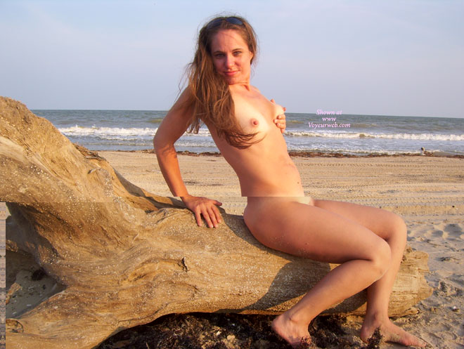 Naked On The Beach - Brown Hair, Erect Nipples, Long Hair, Naked Girl, Nude Amateur , Side Shot, Nude At The Beach, Long Erected Nipples, Tan Lined Tits, Naked Near The Sea