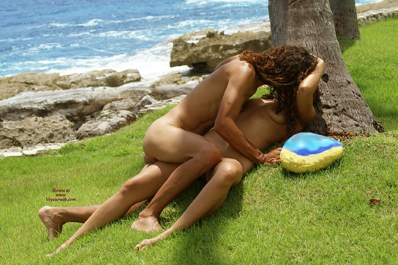 Erotic Love - Red Hair, Naked Girl, Nude Amateur , Two Girls Embrace, Romance And The Shore, By The Rocky Beach, Outdoors Nude, Short Red Hair, Sexy Daring Couple, Two Athletic Gals, Sex By The Shore, Bare Feet, Two Girls Kissing On The Grassy Beach