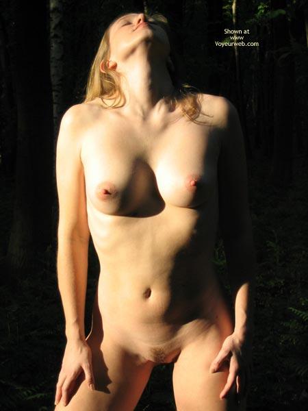 Trimmed Pussy - Trimmed Pussy , Trimmed Pussy, Trimmed Blonde, Nude In The Sunshine, Nude Blonde, Erotic Art, Outdoors Nude