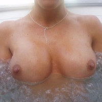 Tits In A Hot Tub - Big Tits, Perky Nipples, Topless , Floating Titties, Hot Tub Topless, Big Tits With Juicy Nipples, Pointed Nipples, Boobs In Hot Tub, Wet Boobs Only