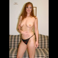 Topless Milf - Milf, Pale Skin, Red Hair, Topless, Hot Wife, Naked Girl, Nude Amateur , French Nails, Pale Skin, Black Panty, Hand On Belly, Standing Frontal Topless, Topless Nude, Tattoo On Right Arm, Redhead