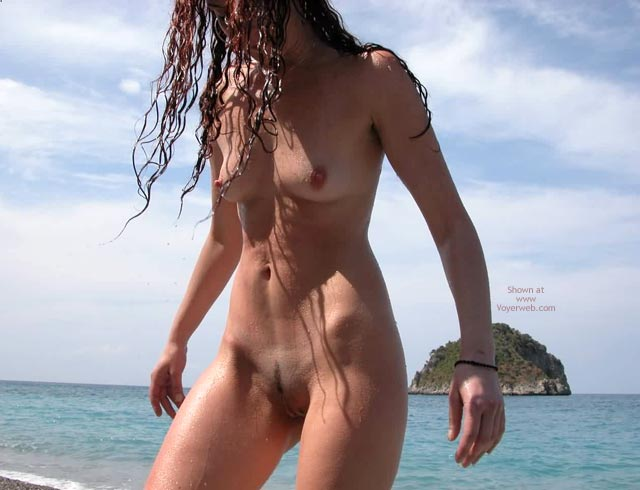 Pic #1 Naked at The Beach
