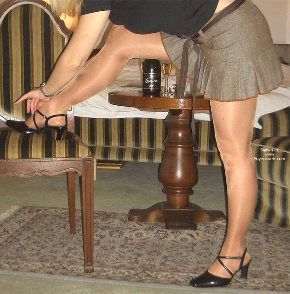 Pic #1 *NL Champagne & Stockings 1