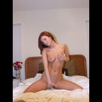 Nude Girl Kneeling On Bed - Long Hair, Red Hair, Naked Girl, Nude Amateur , Naked On Bed, Hind Hiding Pussy, Hand Covering Pussy, Cupping Her Breast, Tight Flat Stomach, Red Haired Girl, Medium Full Breasts, Long Red Hair, Nude On Bed