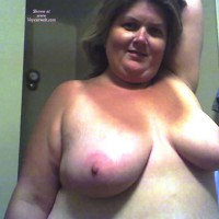 Wife's Tits , My Wife Things She's Not Attractve. What Do You Think? Let Her Know