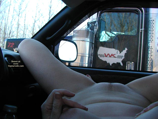 Truck drivers having anal gay sex with men