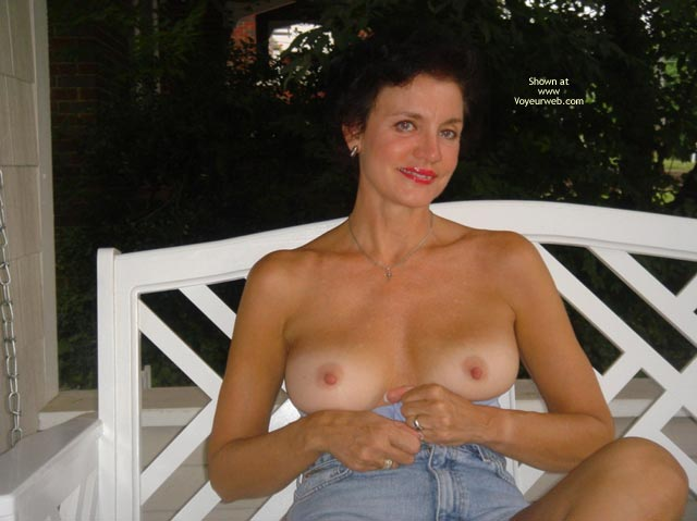 Hard Nipples - Hard Nipple, Jeans, Perky Nipples, Topless Outdoors , Hard Nipples, Girl On Porch, Blue Jeans, Topless Outdoors, Perky Nipples, Older Topless Woman, Tanlined Tits, Outdoor Topless, White Rocker