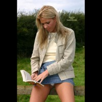 Blonde - Blonde Hair, Nude Outdoors, Upskirt , Blonde, Upskirt, Upskirt Thong, Blond Upskirt, Outdoors, Secret Discovered