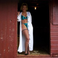 Lucy in The Barn