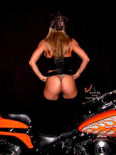 Pic #1 Lexie As Biker Babe