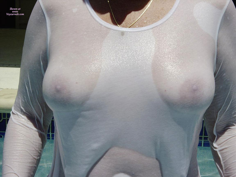 Wet White T-shirt - Large Aerolas , Wet Top, Wet And White, Large Tits, Gold Necklace, Wet T Shirt, Wet Tits, Wet T-shirt, Lovely Nipples, Golden Necklace, Gold Chain, Wet, Sheer Beauty, Wet White Long Sleeve Shirt, Very Busty, Wet Bobs, Nipples, See Through