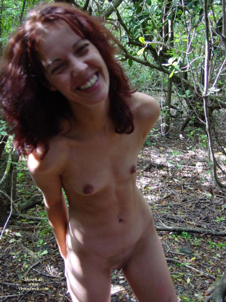 Nude In Forest - Small Breasts, Naked Girl, Nude Amateur , Full Frontal, Laughing With The Photographer, Tiny Tits In Forest, Thin Body, Nude In Nature, Naked Hike, Woods Nymph