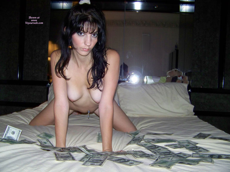 Money And Sex - Dark Hair, Doggy Style, Long Hair, Small Breasts, Small Tits , Reverse Wfi, Belly Button Piercing, Doggy Dollar Pose, Pierced Naval, Nice Small Titties, Hanging Breasts