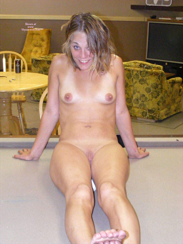 Silly Nude On A Pool Table - Blonde Hair, Erect Nipples, Shaved Pussy, Small Tits, Naked Girl, Nude Amateur , Dirty Blonde Hair, Big Pussy Lips, Tiny Tits, Playing Pool, Pool Table In Recreation Room