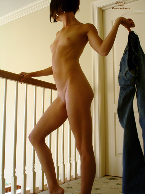 Naked Girlfriend - Black Hair, Landing Strip, Milf, Naked Girl, Nude Amateur , Sexy Body Proportions, Striping On Balcony, Short Black Hair, Full Nude, Nude Sexy Milf, Sexy Girl Profile, Slim Body, Tiny Tits, Tiny Breasts, Indoors, Very Narrow Landing Strip