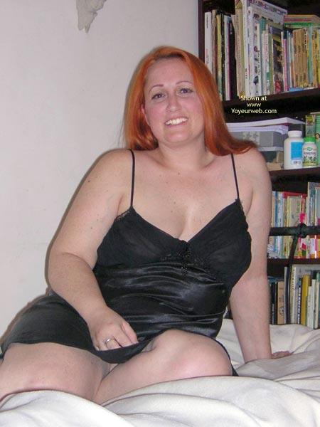 Pic #1Naughtysimone'S Silky Black Dress