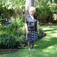 Marie In The Backyard