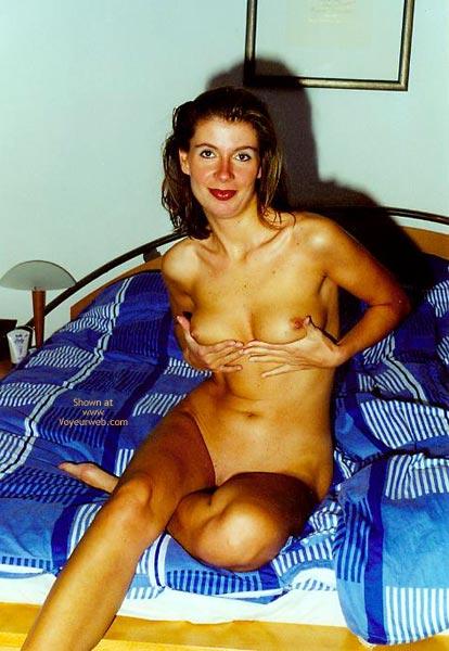 Nackt Vor Der Kamera