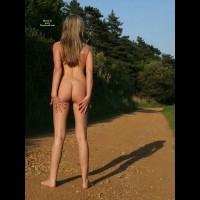 Naked On The Trail - Blonde Hair, Long Hair, Long Legs, Round Ass, Naked Girl, Nude Amateur , Nice Round Bum, Ass Shot, Nude Outdoors, Great Ass, Nude On Path, Full Nude, Long Dirty Blond Hair, Outdoor Ass Shot