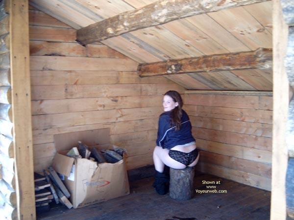 Pic #1 Jenn 19 At The Campsite