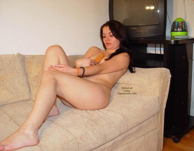 Pic #1 My Honey Naked On A Sofa
