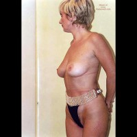Patrizia At 48 In Italian Lingerie