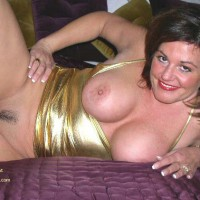 Trim Bush - Large Breasts , Trim Bush, Womanly Curves, Tight Closed Pussy, Large Breasts