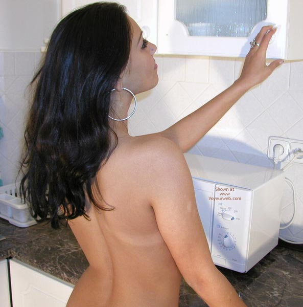 Pic #1 Naked in the Kitchen
