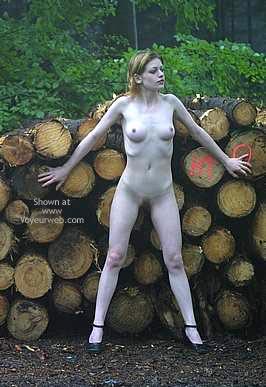 Pic #1 Csilla In The Romanian Wood 2