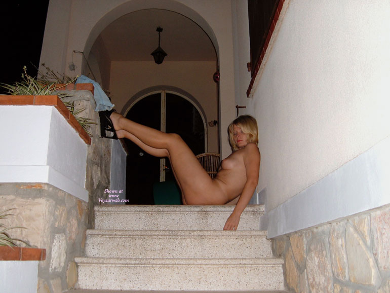 Nude Drunk Wife - Blonde Hair, Heels, Natural Tits, Nude Outdoors, Perky Tits, Naked Girl, Naked Wife, Nude Amateur, Nude Wife , Outdoor Nude Profile, Only Wearing Black High Heels, Passed Out Nude On The Stairs, Resting On Stairs, Resting At The Top Of The Stairs, Naked At Front Door, Nude Blond Posed On Stairs, Drunk On Spring Break.