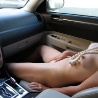 Masturbating In Car - Naked Girl, Nude Amateur , Touching Self, Masturbating Passenger, Long Erect Nipples, Natural Boobs, Young Nymph Riding On Leather Seat, Naked In The Car, Nude With Erect Nips Lying In Car, Sexy Naked Codriver, White Plastic Pearls, Nude Codriver