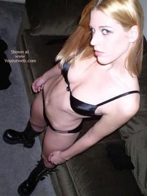 Pic #1 Emily - 19 yo Tall Blonde Gets Tough