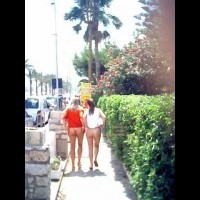 Two Bare Ass Girls Walking In Public - Flashing Ass, Flashing, Nude In Public , Two Bare Ass Girls Walking In Public, Public Bottomless Strole, Two Girls Flashing, Flashing In Public, Flashing Ass