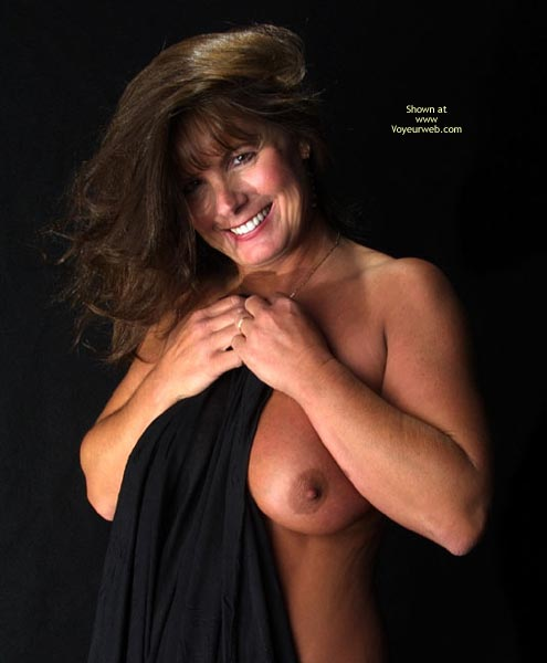 Smiling Into Camera - Milf, Smile, Looking At The Camera , Smiling Into Camera, Very Huge Tits, Mature Brunette, Mature Breasts, Milf, Dark Nipple Smile, Mature Topless, Nude Milf Tanned Tits