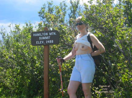 Pic #1 Hiking the Trail
