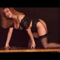 Sara In Black Stockings