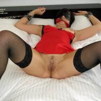 Girl Fun In Red