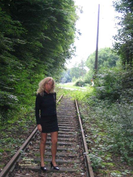 Pic #1*Su Ninas Tour In Ihrem Schwarzen Mini