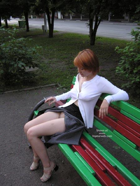 Pic #1 Siberienne Exib En Public Jour De Pluie