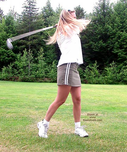 Pic #1 Julie Gone Golfing
