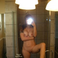 Naked SELF PHOTO Of Wife - Big Tits, Erect Nipples, Large Breasts, Self Shot, Shaved Pussy, Naked Girl, Naked Wife, Nude Amateur, Nude Wife , Bathroom Self Pic, Great Tities In Self Photo, Frontal Nude In Shower Stall, A Leg Up, Mirror Pic, Tattoo On Right Arm, Pussy Exposed, Nude Wife Self Shot, Self-shot Full Nude