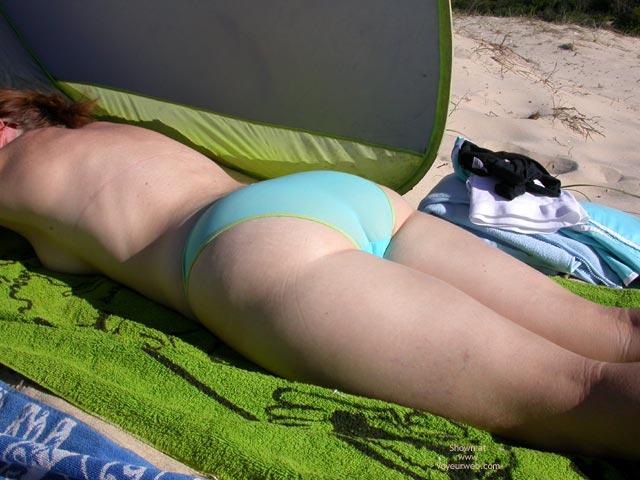 Pic #1 My Aussie Wifes 1st Nude Beach Photos