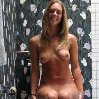 Hot Girl Naked In The Bathroom