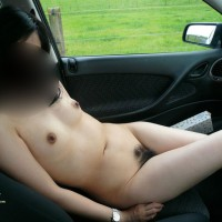 Asian Wife Naked On Highway